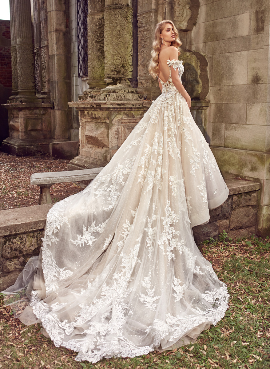 Amalia Carrara Gowns with Sleeves
