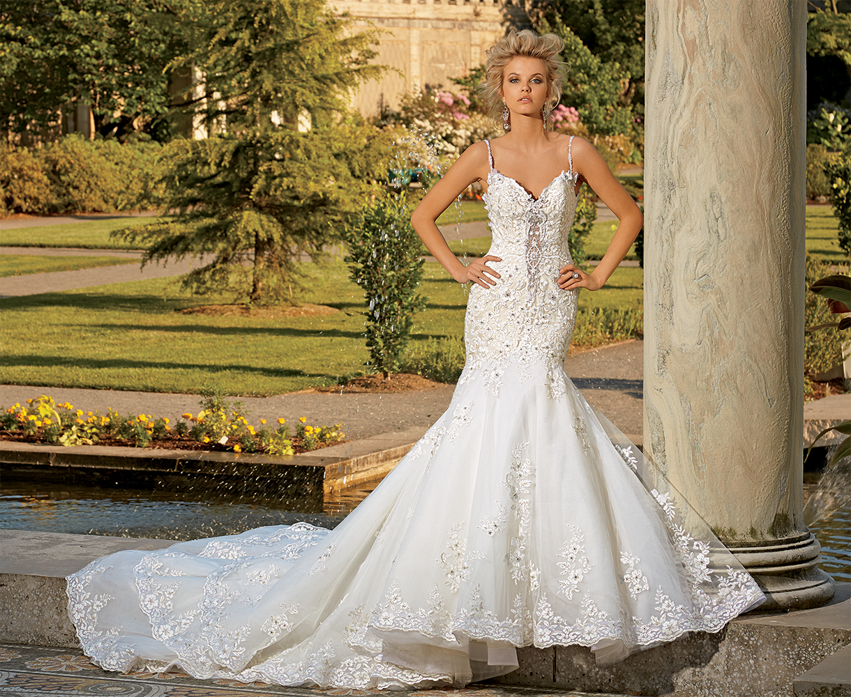 Bridal Gowns by Eve of Milady - Boutique wedding dresses Style 1539