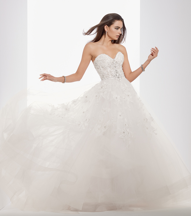 Bridal Gowns by Eve of Milady - Boutique wedding dresses Style 1544