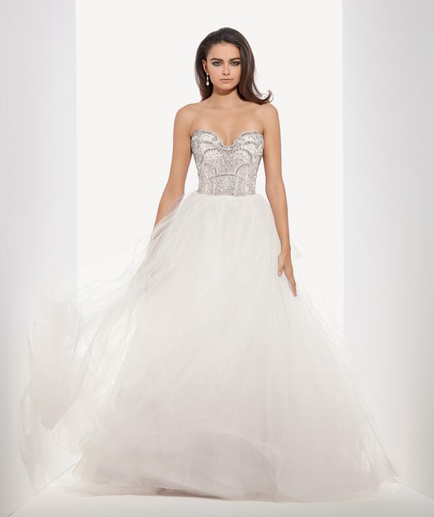 Bridal Gowns by Eve of Milady - Boutique wedding dresses Style 1546