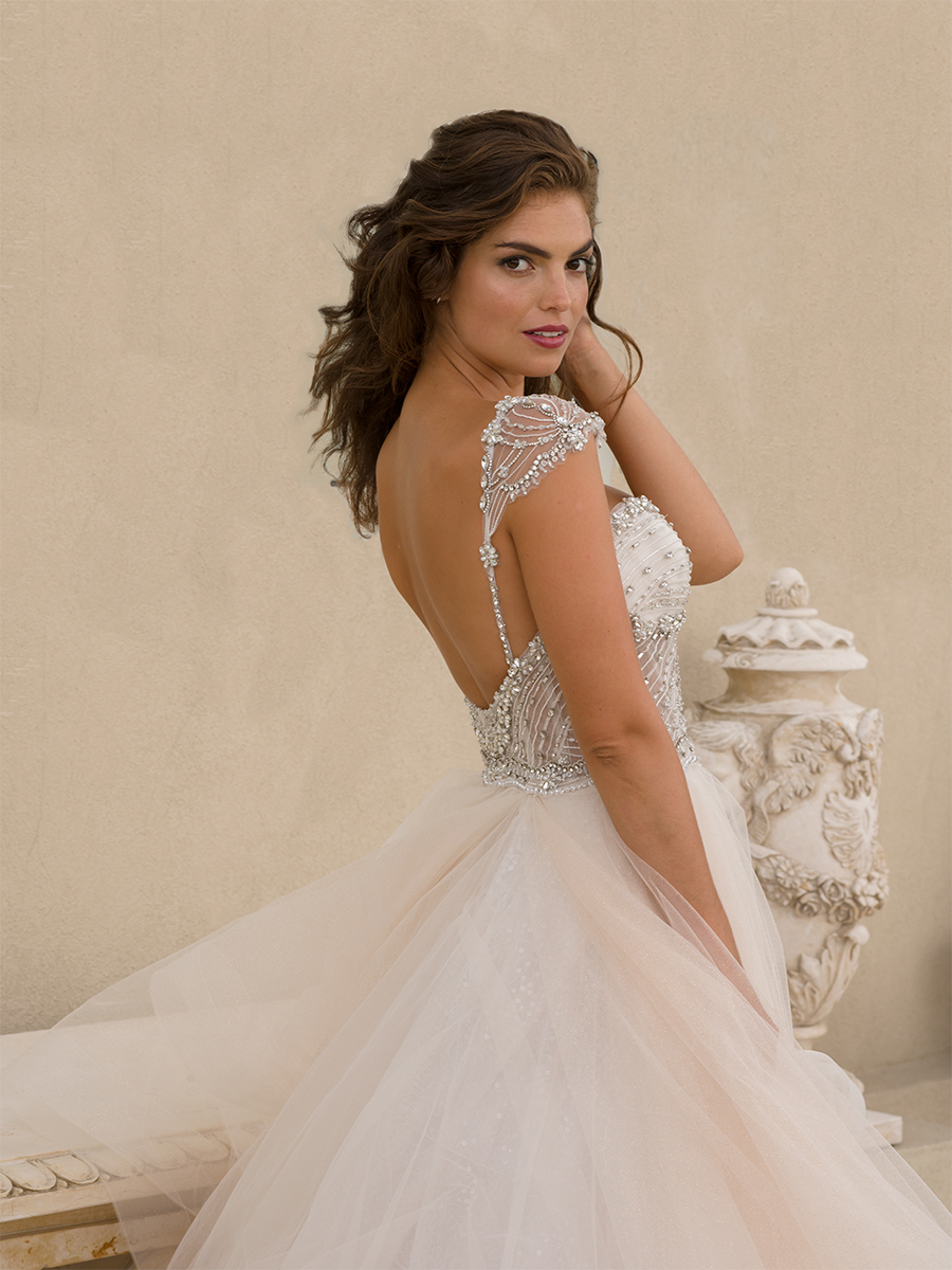 2575e3f2cd00 Bridal Gowns by Eve of Milady - Boutique wedding dresses Style 1548