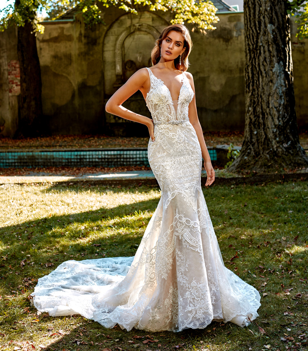 Bridal Gowns by Eve of Milady - Boutique wedding dresses Style 1612