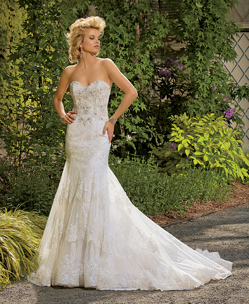 Bridal Gowns by Eve of Milady - Couture wedding dresses Style 4328