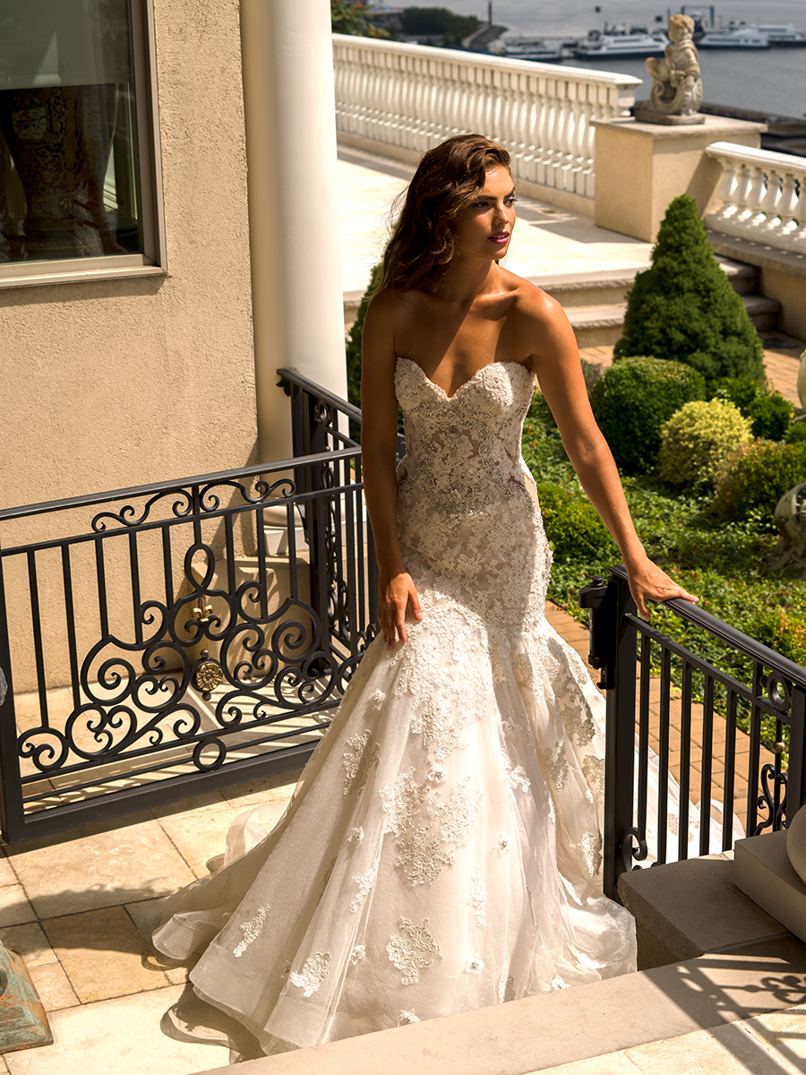 Bridal Gowns by Eve of Milady - Couture wedding dresses Style 4339