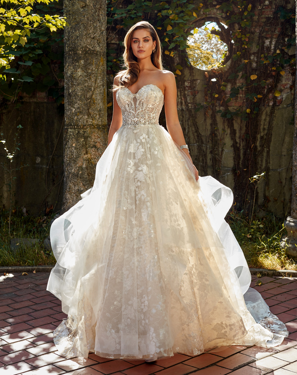 Bridal Gowns by Eve of Milady - Couture wedding dresses Style 4368